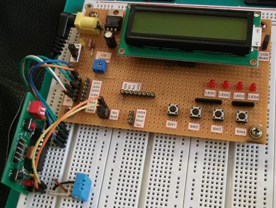 Instalación en Protoboard
